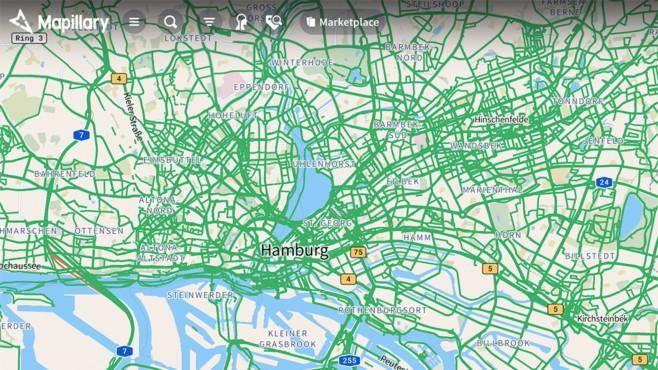 Mapillary©Screenshot Mapillary