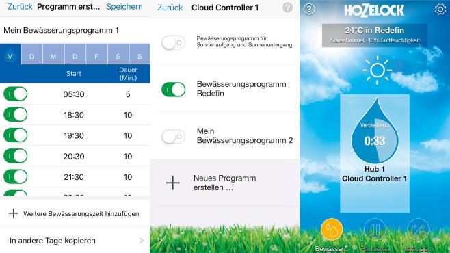 Hozelock Cloud Controller: Test©COMPUTER BILD, Ingolf Leschke