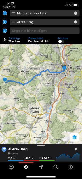 Bergfex Touren & GPS-Tracking: Navi zum Wandern, Radfahren & Laufen (App für iPhone & iPad)