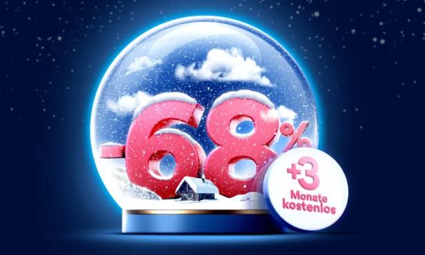 NordVPN: Weihnachtsangebot mit festlichem Rabatt NordVPN schüttelt die Preise durch: Mit dem tollen Weihnachtsangebot sparen sie bares Geld.©NordVPN