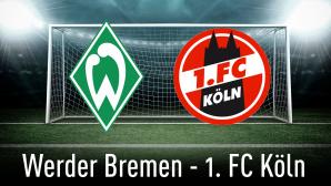 Werder Bremen gegen Köln©iStock.com/efks, SV Werder Bremen, 1. FC Köln