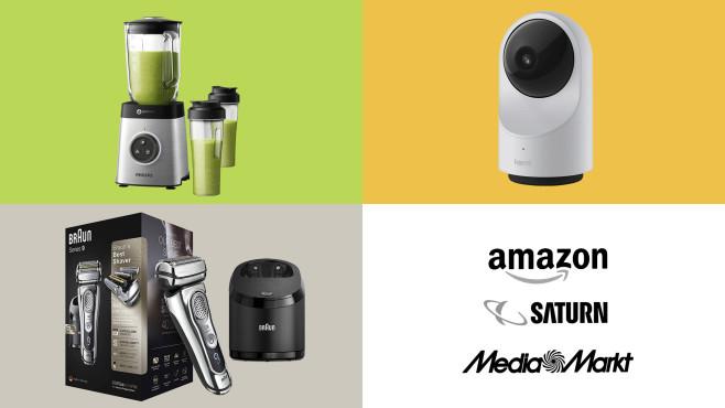 Amazon, Media Markt, Saturn: Die Top-Deals des Tages!©Amazon, Media Markt, Saturn, Braun, Philips, YI TECHNOLOGY
