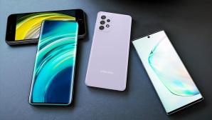 Beliebte Handys unter 500 Euro©Apple, Xiaomi, Samsung / COMPUTER BILD / Michael Huch
