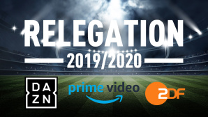 Relegation 2020 © efks-Fotolia.com, ZDF, DAZN, Amazon
