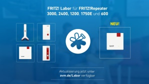 Fritz Labor f�r Repeater © AVM