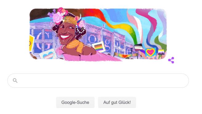 Google Doodle: Marsha P. Johnson©Google