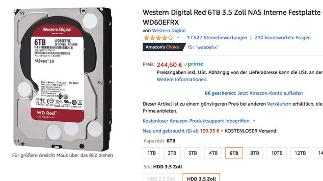 WD Red©Amazon