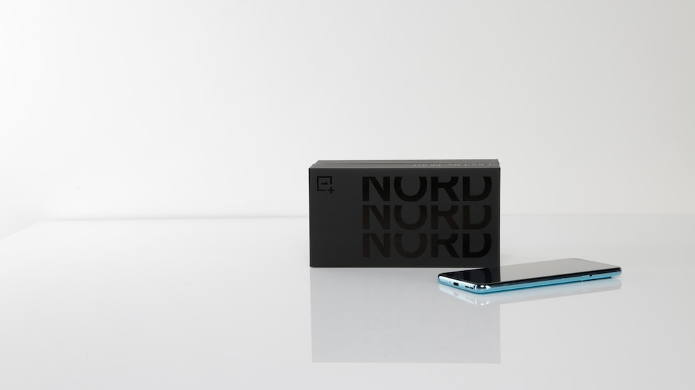 Verpackung des OnePlus Nord