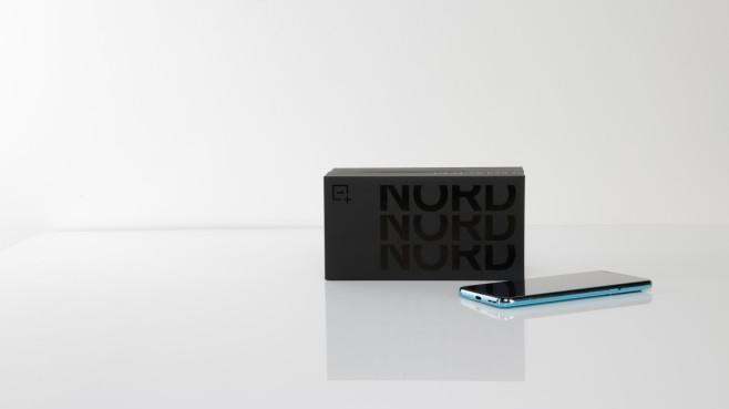 Verpackung des OnePlus Nord©COMPUTER BILD
