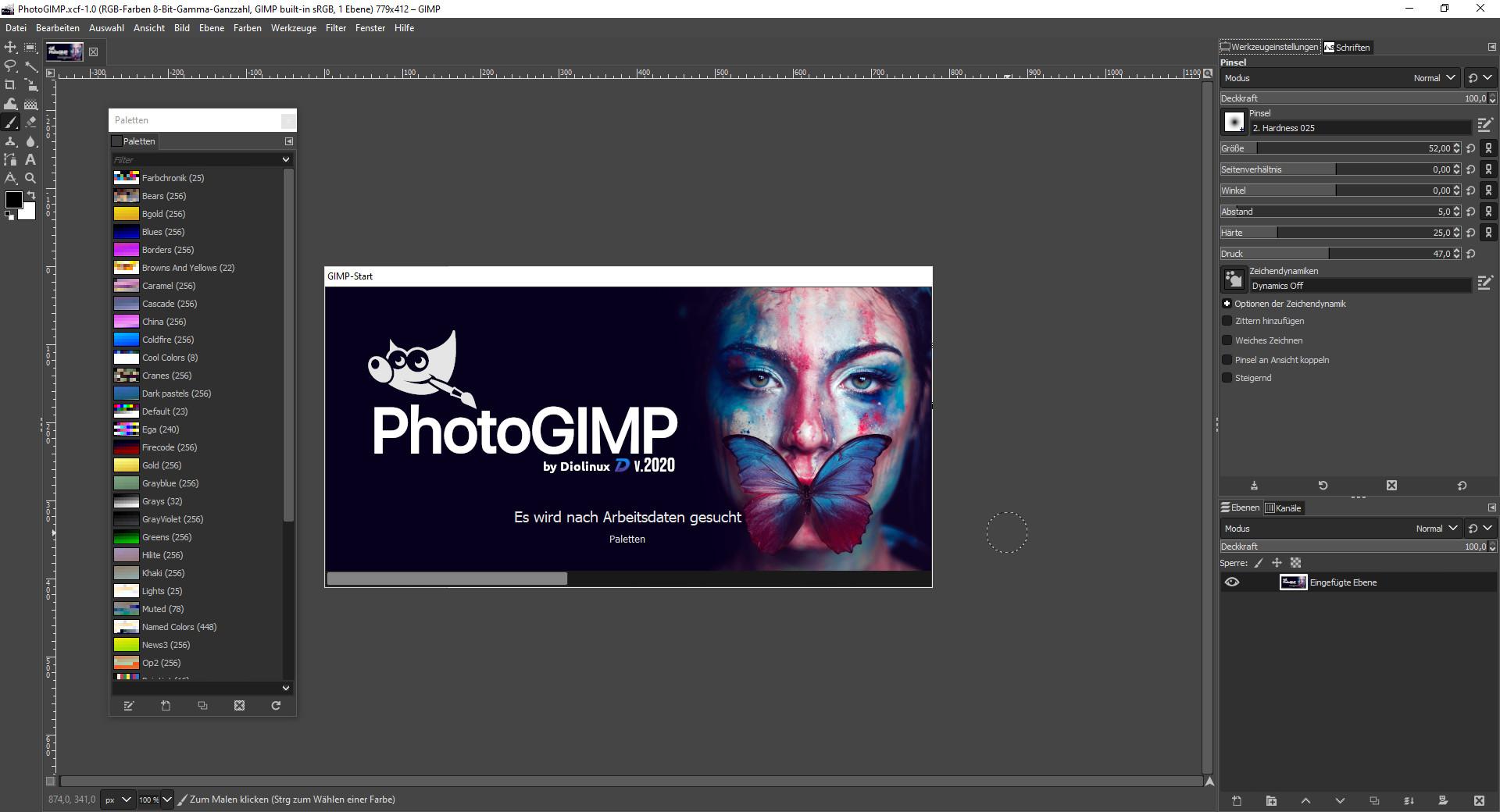 Screenshot 1 - PhotoGIMP