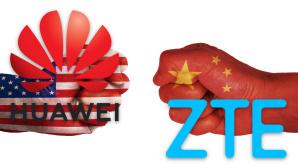 Handelsstreit zwischen den USA und China©gettyimages.de/Yaorusheng, Huawei, ZTE