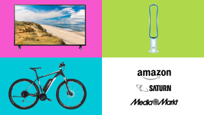 Amazon, Media Markt, Saturn: Die Top-Deals des Tages! © Amazon, Saturn, Media Markt, LG, Fischer, Dyson