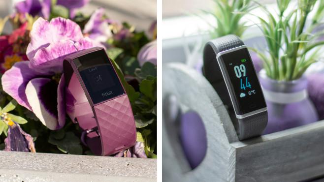 Fitbit Charge 4, Medion S3500©COMPUTER BILD