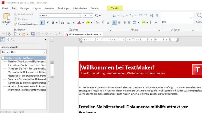 Softmaker TextMaker 2021©COMPUTER BILD
