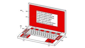 Patentzeichnung von Apples Multi-Screen-MacBook©Apple / myfixguide.com