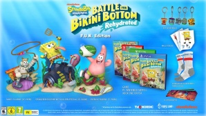 Spongebob SquarePants: Battle for Bikini Bottom - Rehydrated - F.U.N. Edition Inhalt Collector's Edition © THQ Nordic