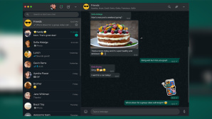 WhatsApp Desktop im Darkmode © WhatsApp Blog