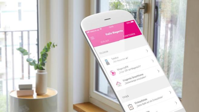 Telekom Smart Speaker Mini, Hallo Magenta-App©Telekom