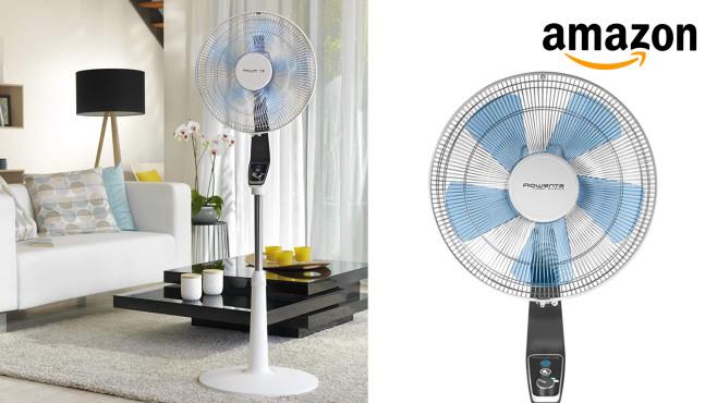 Ventilator bei Amazon im Angebot: Schnelle Abkühlung von Rowenta Amazon-Angebot: Derzeit hat der Onlineversandhändler den Ventilator Rowenta VU5640 auf Lager. Zum guten Preis?©Amazon, Rowenta