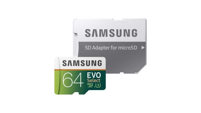 Samsung MB-ME64GAEU EVO Select 64 GB©Amazon