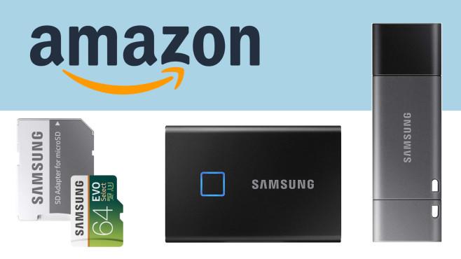 Samsung-Speicher bei Amazon©Amazon