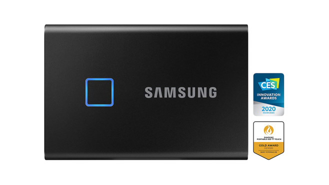 Samsung T7 Touch Portable SSD 1 TB©Amazon