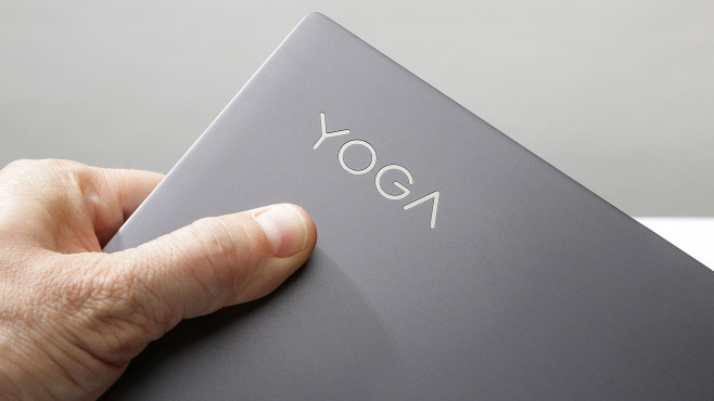Detailaufnahme des Lenovo Yoga Slim 7©COMPUTER BILD