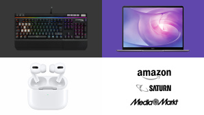 Amazon, Media Markt, Saturn: Die Top-Deals des Tages! © Amazon, Saturn, Media Markt, Apple, Huawei, HyperX