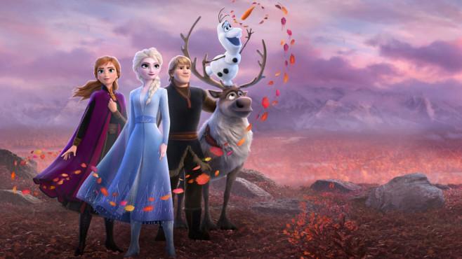 Die Eiskönigin 2 bei Disney Plus©Disney