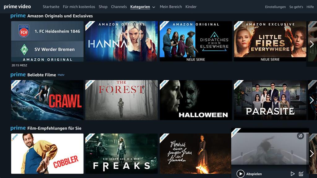 Amazon Prime Video: Nutzerprofile kommen nach Deutschland