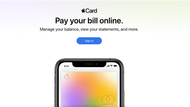 Apple Card © Apple