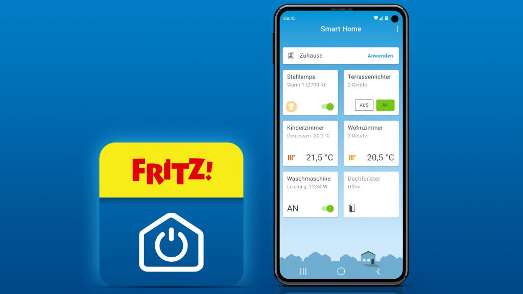AVM: Neue FritzApp Smart Home für Android und iOS
