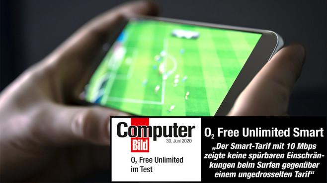 o2 jetzt mit drei Tarifen ohne Datenlimit HD-Streaming für unterwegs ohne Limits – mit Unlimited Smart sollten die meisten Nutzer glücklich werden©iStock