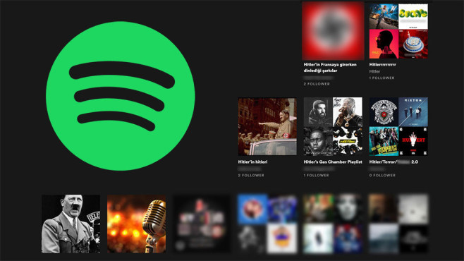 Spotify Nazi-Problem©Spotify