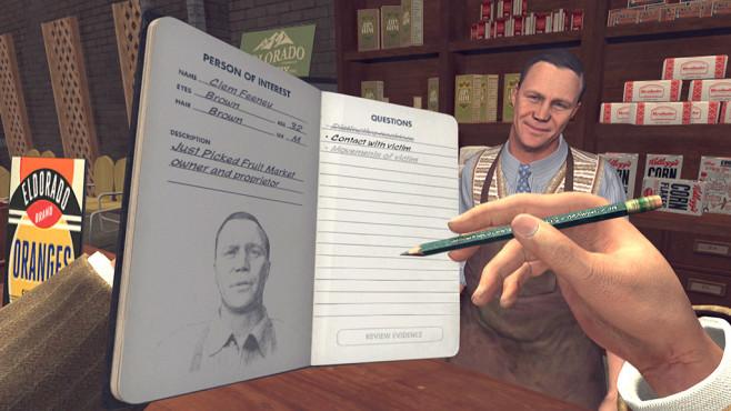 L.A. Noire VR Case Files©Rockstar