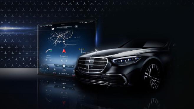 Mercedes-Benz MBUX S-Klasse©Mercedes-Benz