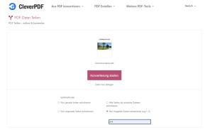 PDF-Datei teilen