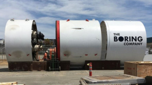The Boring Company: Bohrer © The Boring Company