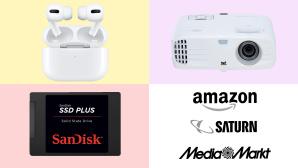 Amazon, Media Markt, Saturn: Die Top-Deals des Tages!©Amazon, Saturn, Media Markt, Apple, Viewsonic, SanDisk