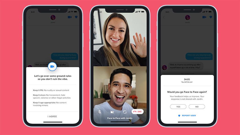 Tinder: Video-Dates starten in die Testphase