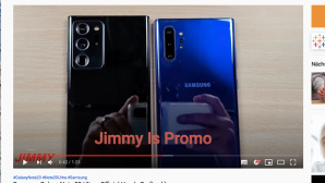 Samsung Galaxy Note 20 Ultra © youtube.com