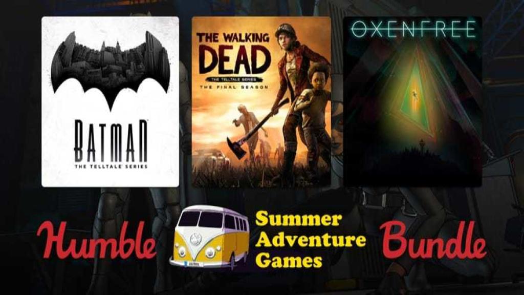 Humble Bundle: Adventure-Paket mit Batman, The Walking Dead & Co.