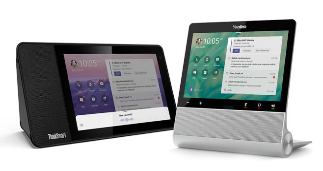 """Microsoft Teams: Neue Funktionen kommen Ende des Jahres kommen in den USA """"All-in-One""""-Geräte auf den Markt, die für Videokonferenzen optimiert sind.©Microsoft"""