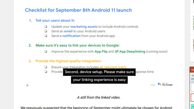 Android 11©Google / androidpolice.com