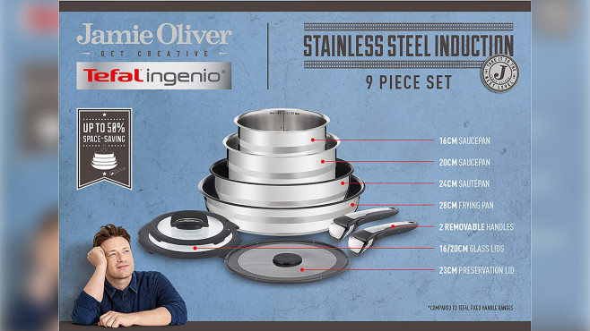 Tefal L95691 Ingenio Jamie Oliver © Amazon