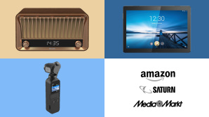 Amazon, Media Markt, Saturn: Die Top-Deals des Tages! © Amazon, Media Markt, Saturn, Philips, Lenovo, DJI