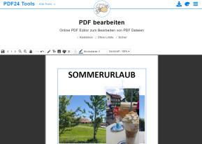 PDF bearbeiten mit Online-PDF-Editor
