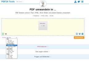 PDF umwandeln in