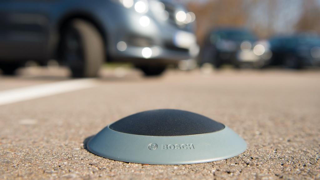 Supermarkt-Parkplätze: Sensoren statt Parkscheibe