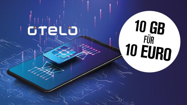 Tarif-Deal: 10 GB für rund 10 Euro bei Otelo! Nur für kurze Zeit bei Verivox.: otelo Allnet-Flat Classic mit 10 GB zum Sparpreis!©Otelo, iStock.com/NatalyaBurova